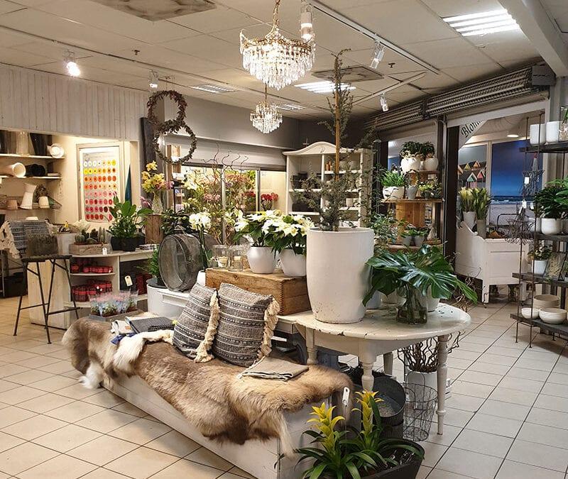 Blomsterbutik med kvalitet och charm!